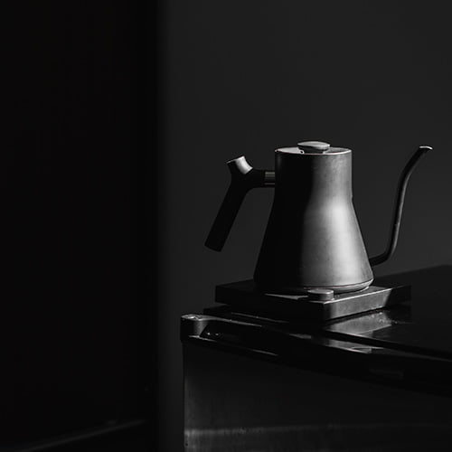 The Fellow Stag EKG - top pick for best kettle for AeroPress.